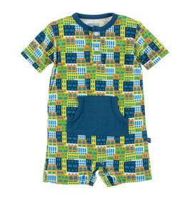 KICKEE PANTS Amazon Houses Kangaroo Romper
