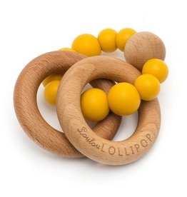 LOULOU LOLLIPOP Loulou Lollipop Rattle Bubble Teether