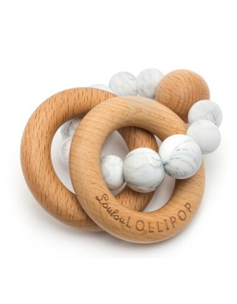 LOULOU LOLLIPOP Loulou Lollipop Rattle Bubble Teether