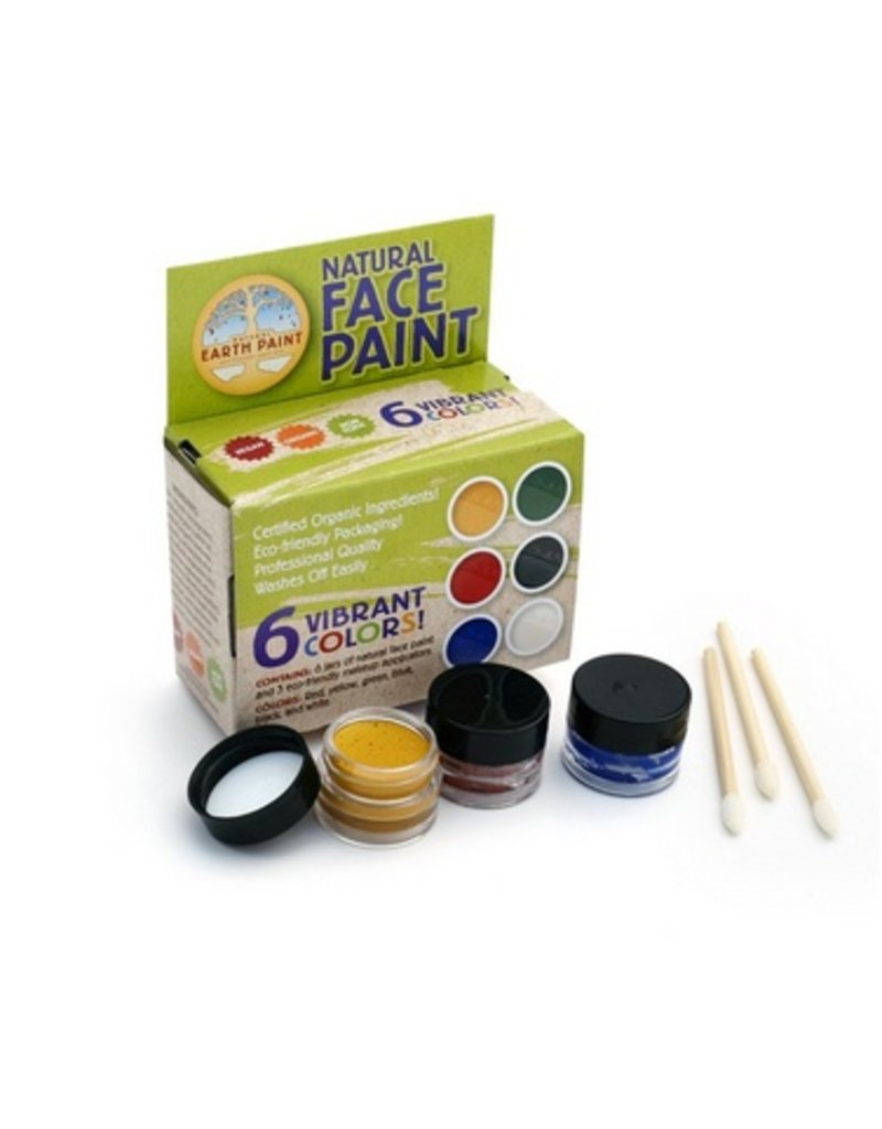 ECOPIGGY Natural Face Paint Kit