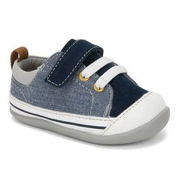 SEE KAI RUN Stevie II Blue Denim Sneaker