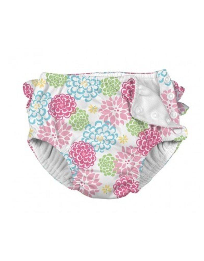 IPLAY Ruffle Snap Swimsuit Diaper