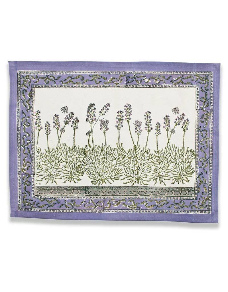 Couleur Nature Couleur Nature Lavender Placemats - Set of 6