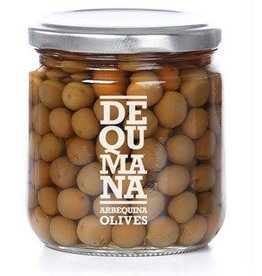Arbequina Green Olives