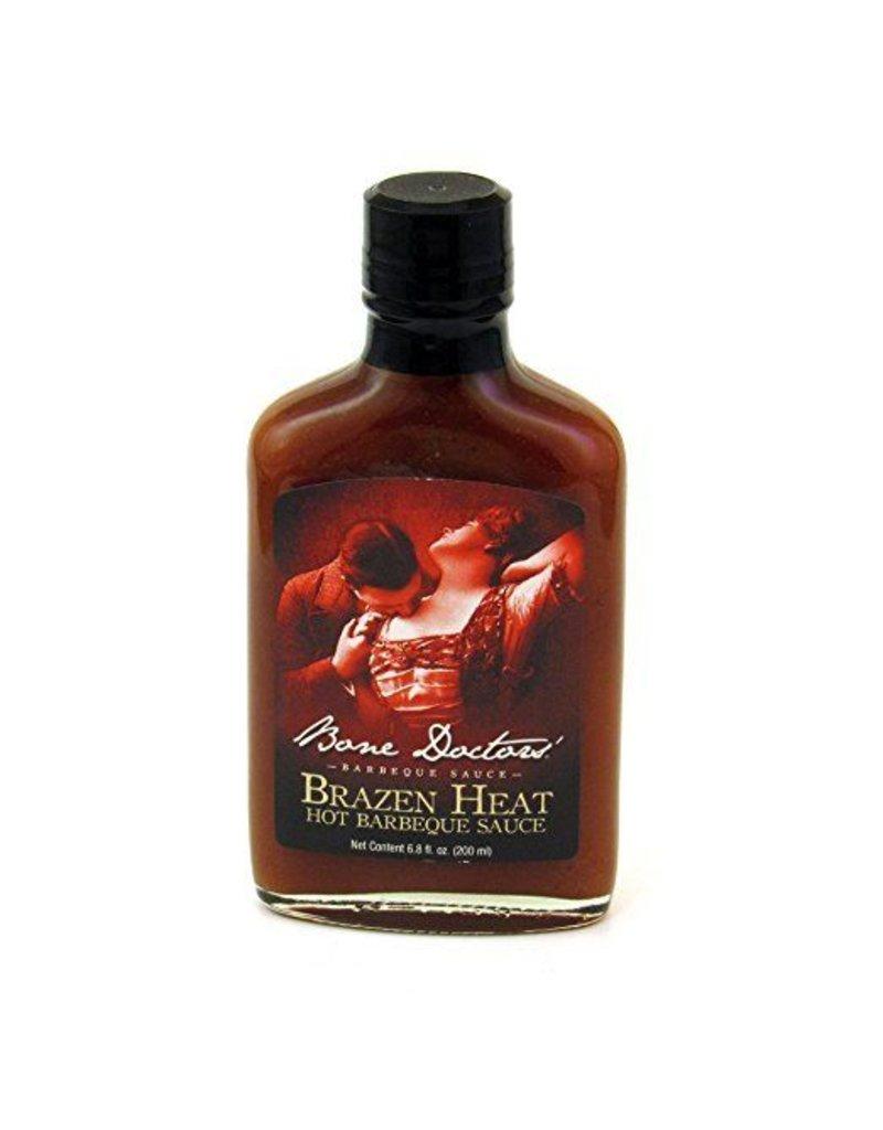 Bone Doctors' Brazen Heat BBQ sauce
