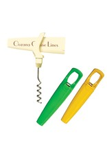 Traveler's Corkscrew Bottle Opener & Foil Cutter