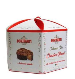 Bonifanti Glazed Panettone in Red/White Box