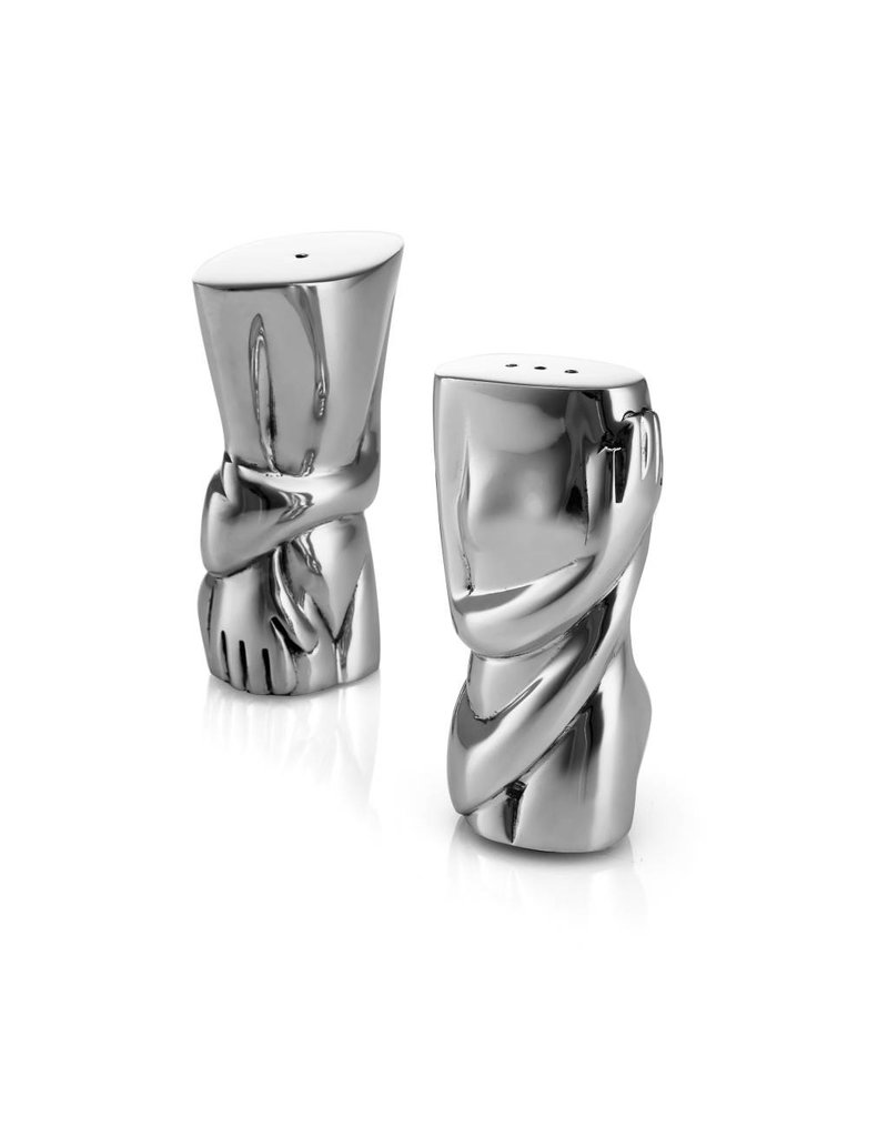 Carrol Boyes Carrol Boyes Salt & Pepper Set - male/female torso