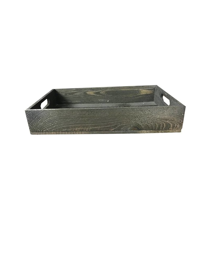 Hilt wood tray dark