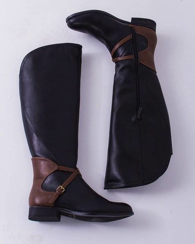 Riding Boot with Strap