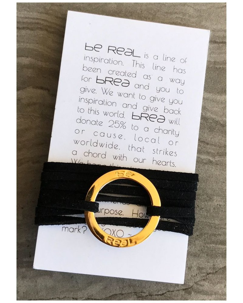 Be Real circle pendant