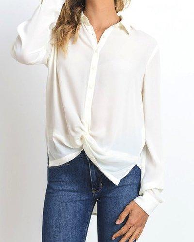 Twisted Placket Shirt