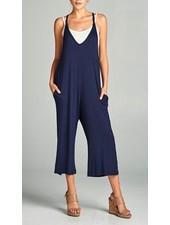 slvls V neck jumpsuit with pocket