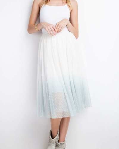 Ombre Midi Skirt