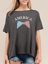 America Dolman Sleeve Top