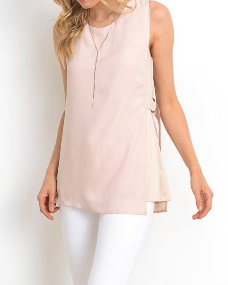Overlay WIth Belt Top