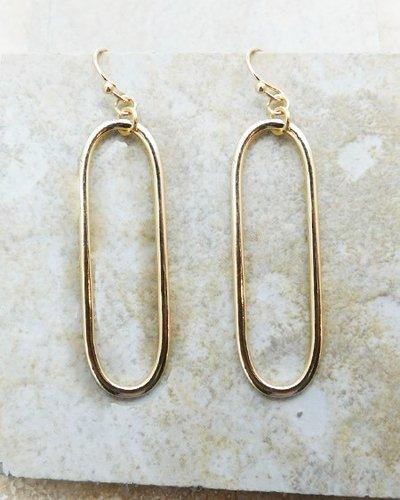 Gabriella Oval Earrings