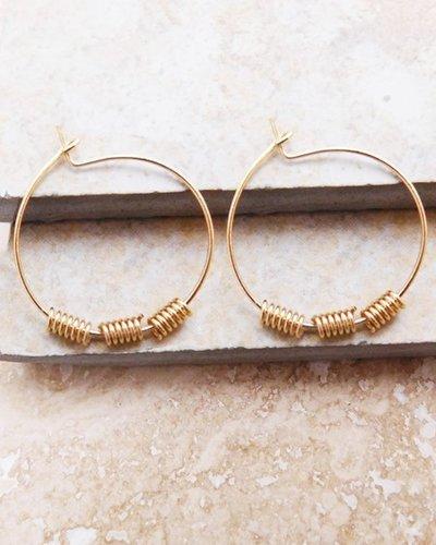 Georgia Hoop Earrings