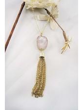 Druzy Stone Necklace