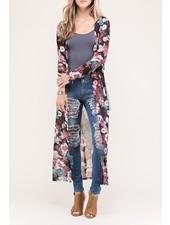 Floral Maxi Kimono