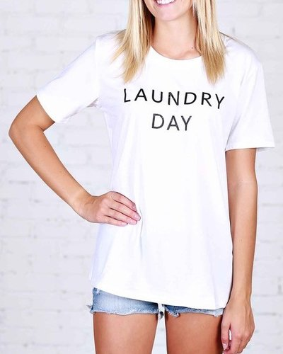 Laundry Day Graphic Tee
