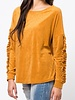 Sweater with Ruffle Detail