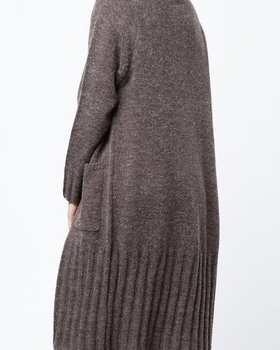 Long sweater cardi