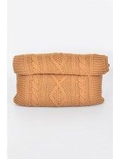 Knit Pattern Clutch
