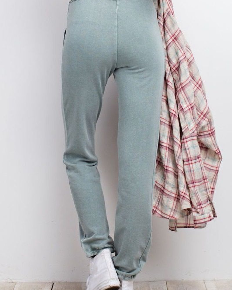 Comfy Washed Dye Sweatpants