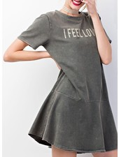 I FEEL LOVE Mini Dress