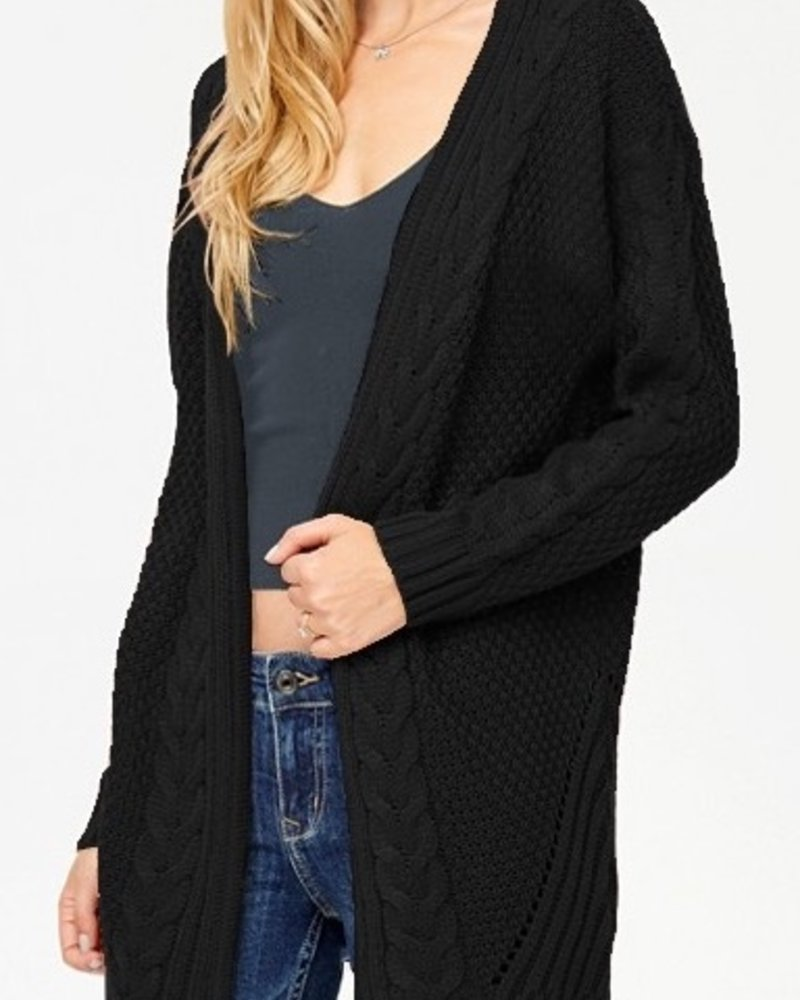 Cable Knit Cardigan - Brea
