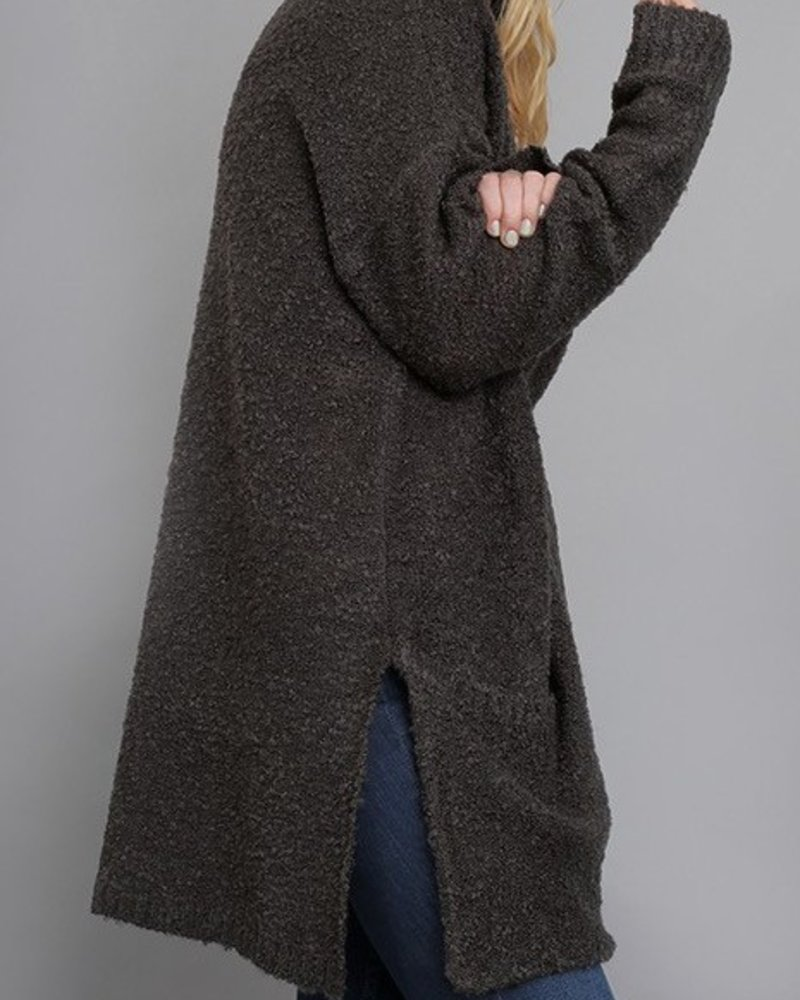 Oversized Pocket Cardigan