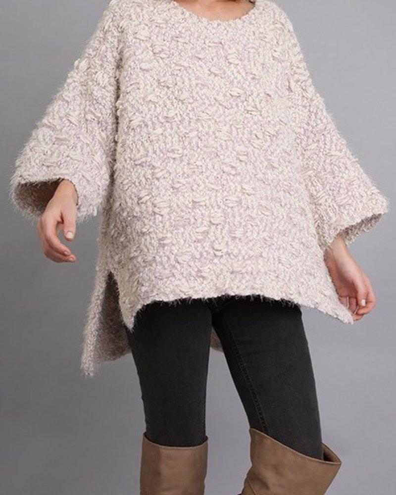 Textured Oversized Sweater