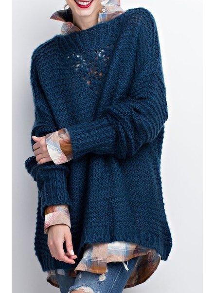 Loose Knit Sweater Tunic