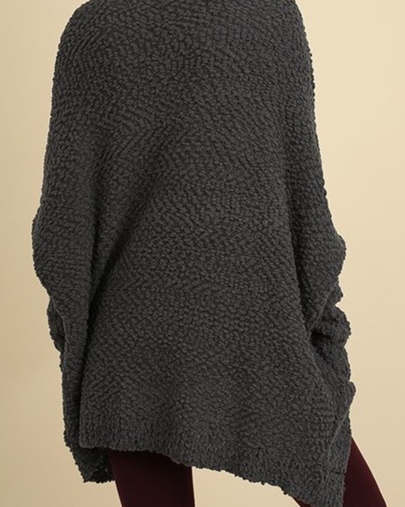 Textured Soft Cardigan