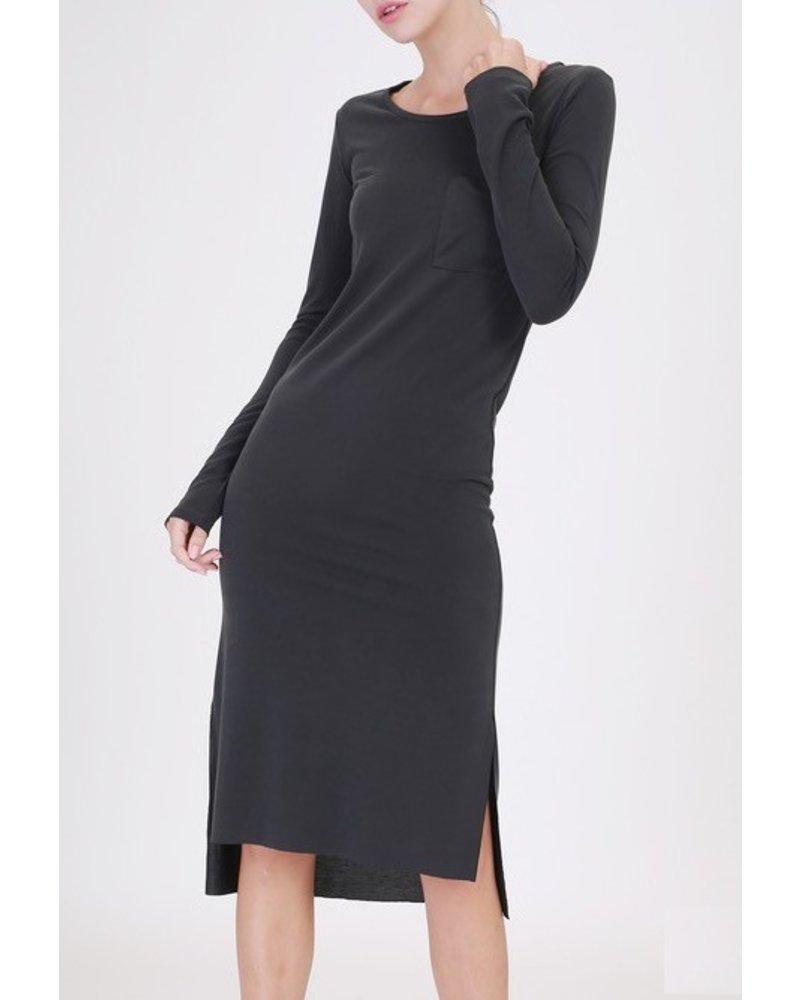 longslv t-shirt dress