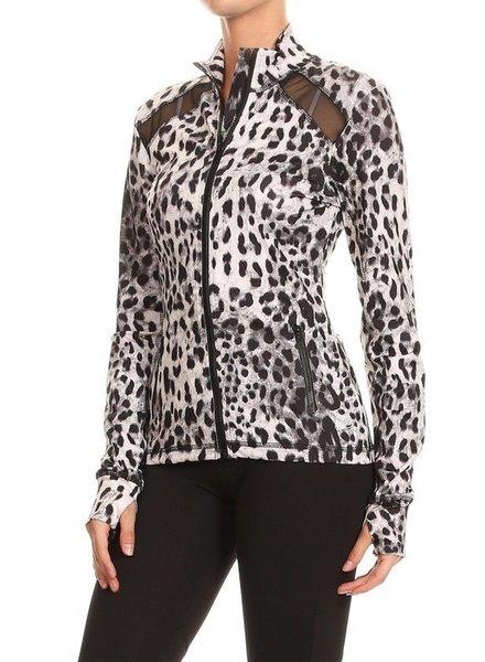 Mesh Cheetah Jacket