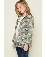 Kids Camo Cargo Jacket
