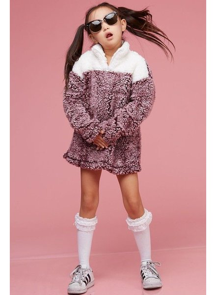 pullover Fuzzy Kids Pullover