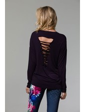 long sleeved Braid Back Long Sleeve