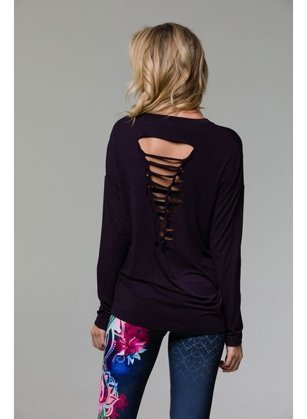 Braid Back Long Sleeve