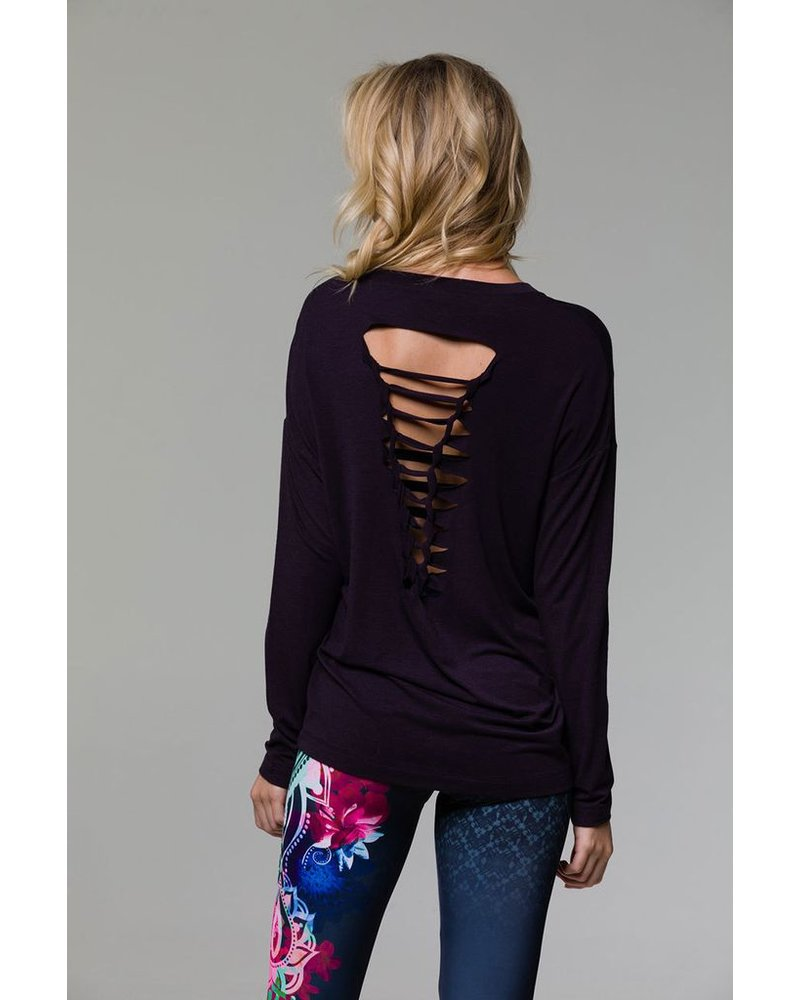 Braid Back Long Sleeve