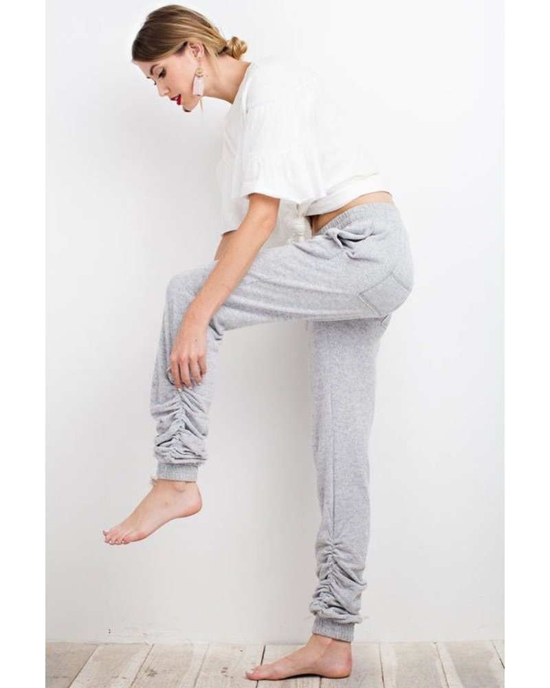 Rusching Sweat Pants