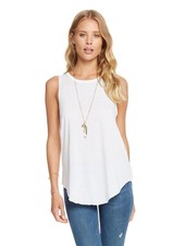 Knotted Drape Back Tank