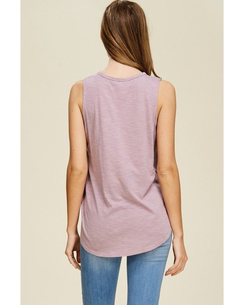 Shoulder Cutout Top
