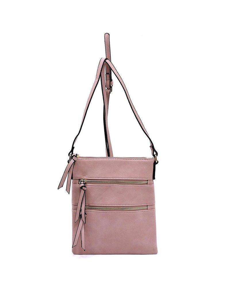 Zipper Crossbody Bag
