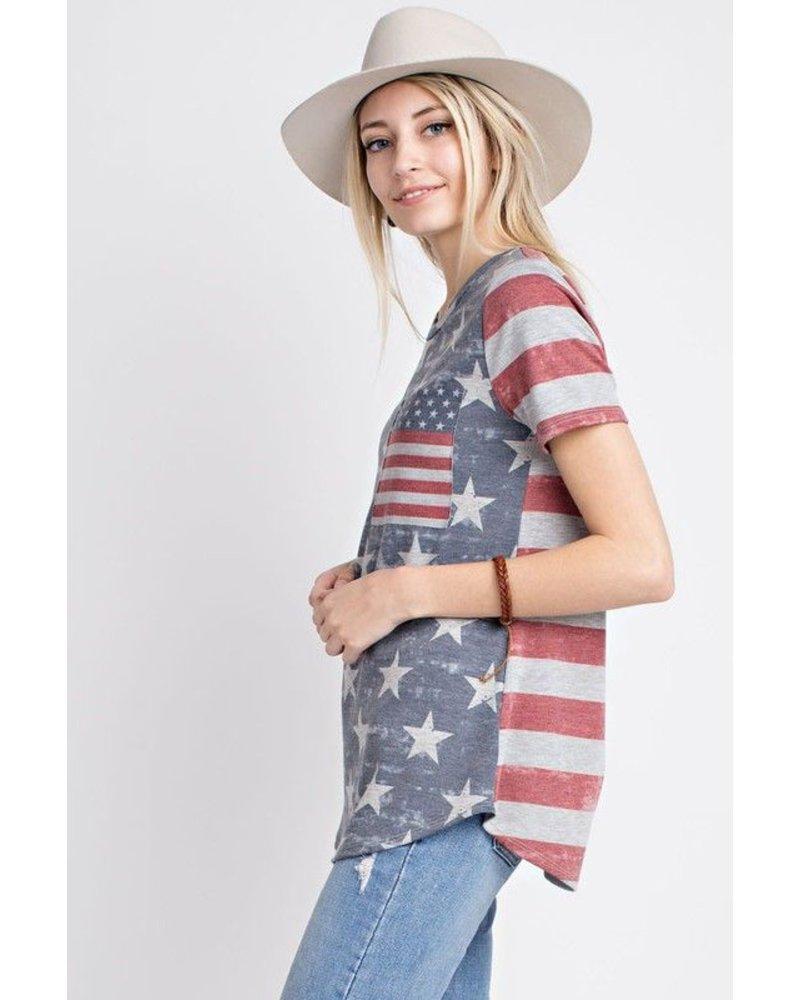American Flag Top