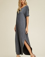 Shirt Dress featuring Open Back