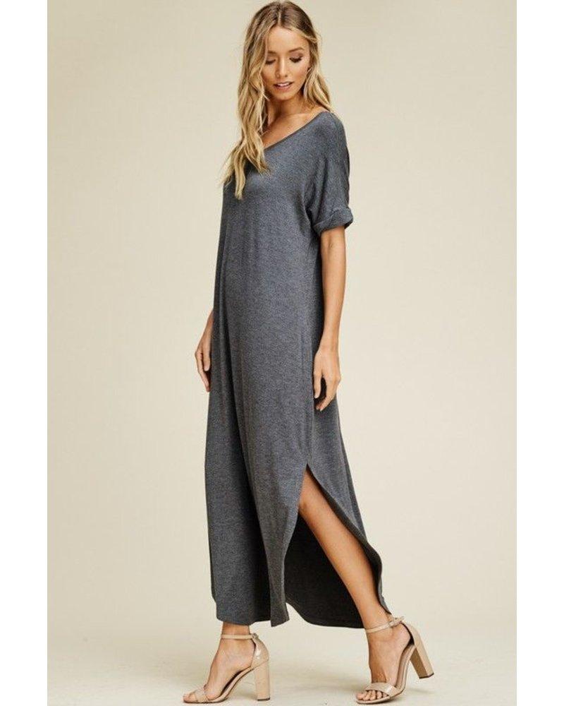 Shirt Dress featuring Open Back