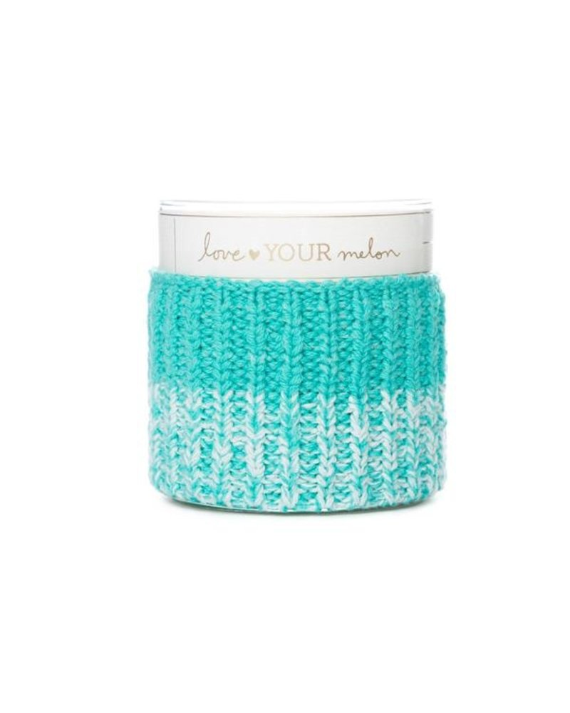 LYM Mint Knit Candle